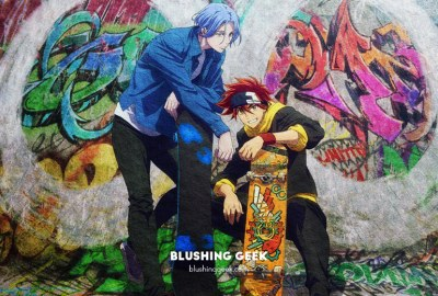 Anime Review - SK8 the Infinity | Blushing Geek