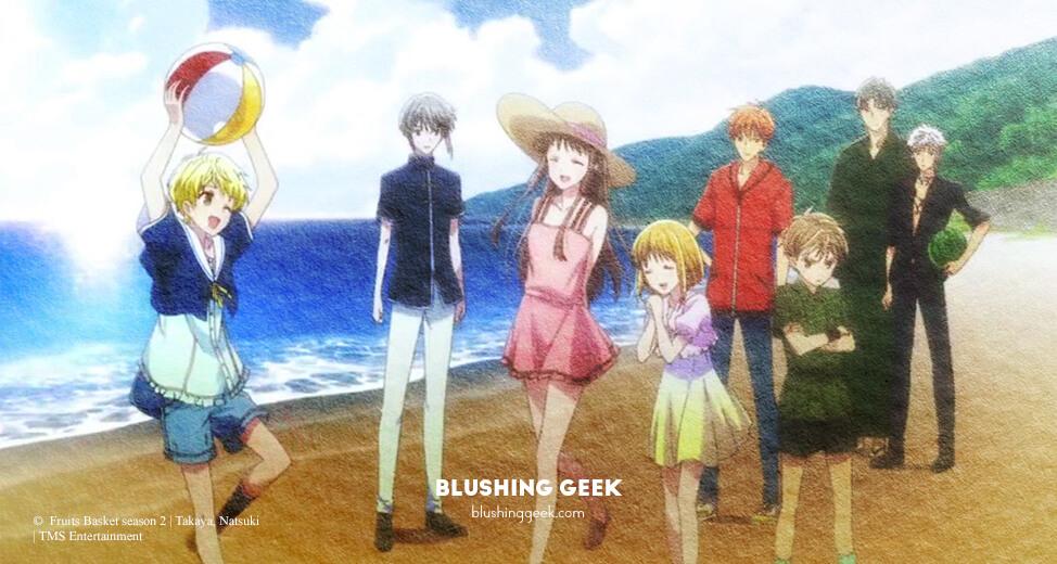Anime Review - Fruits Basket Season 2   Blushing Geek