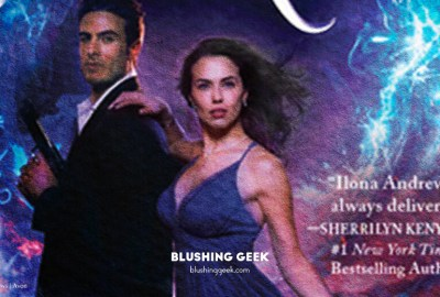 Book Review - Sapphire Flames by Ilona Andrews | Blushing Geek