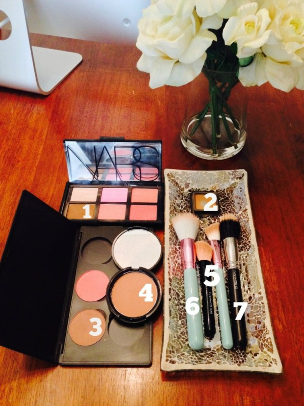 My favorite contouring bronzers, blushes, and brushes for fair to light skin
