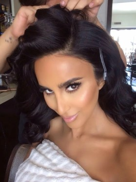 Lilly Ghalichi's Makeup Tutorial Part Three – Eyeliner, Mascara, Blush, Highlighter, and Nude Lip