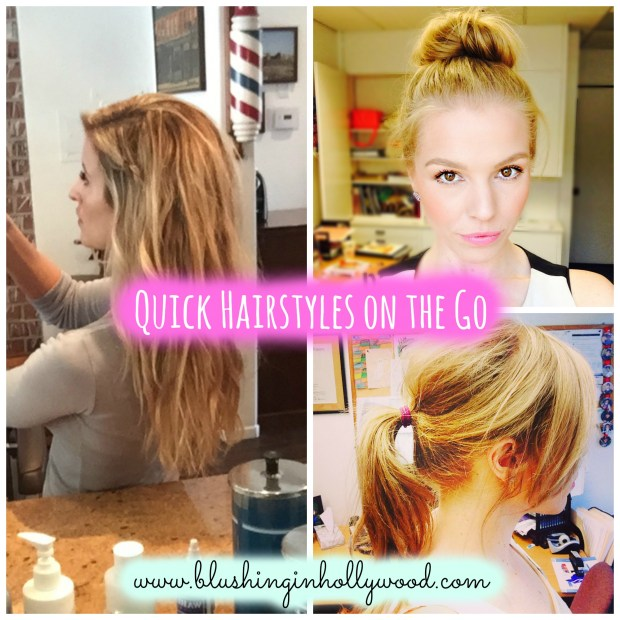 Quick Heatless Hairstyles on the Go – Fun Bun, Beachy Waves with Video Tutorial and, Braid Crown