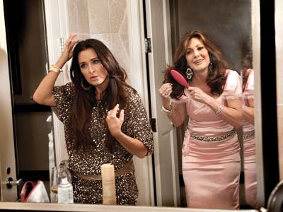 Kyle Richards and Lisa Vanderpump from RHOBH