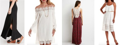 Affordable dresses and skirts that are both comfortable and cute for Coachella 2015