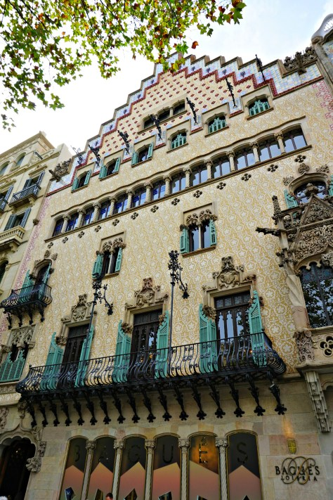Casa Amatller on The Block of Discord in Barcelona