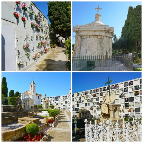 Cemetery in Sitges, Spain