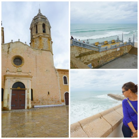 Gorgeous old church in Sitges, Spain 30 minutes outside of Barcelona