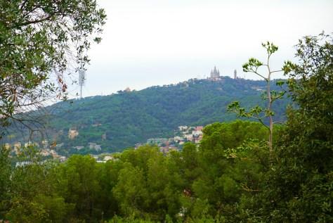 Tibado Mountain in Barcelona, Spain