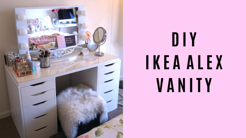 DIY IKEA ALEX VANITY BY BLUSHINGINHOLLYWOOD.COM