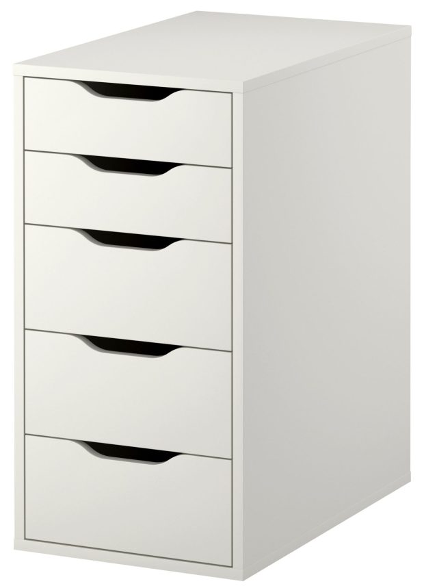ikea-alex-5-drawer-vanity-unit-white