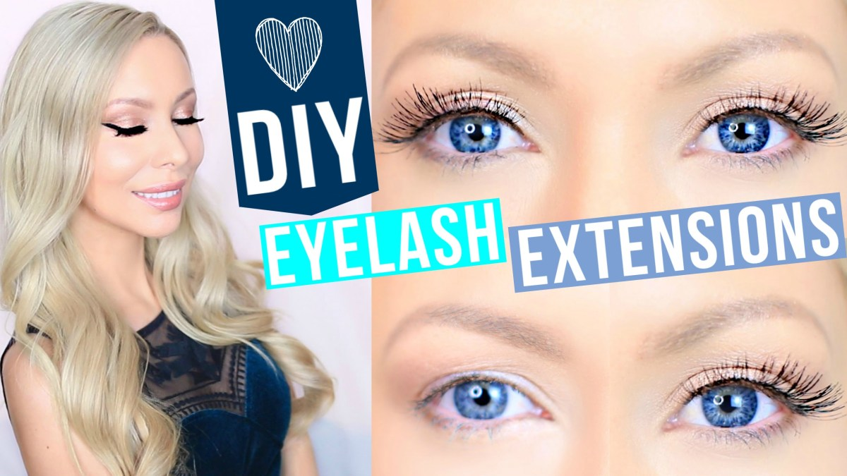 DIY Lash Extensions