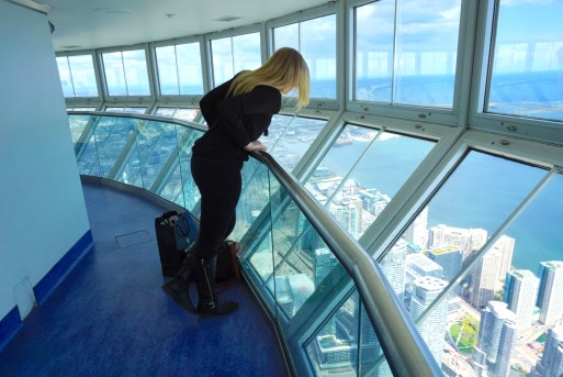 Toronto Top 5 Recommendations looking down from the top of the CN Tower