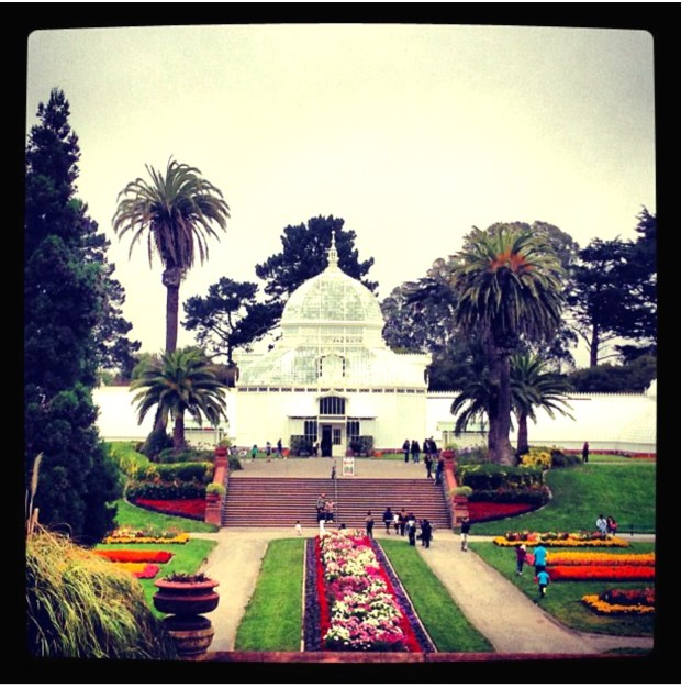 San Francisco Conservatory of Flowers at Golden Gate Park