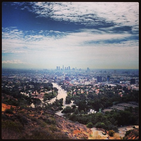 Photo taken from Runyon Canyon.