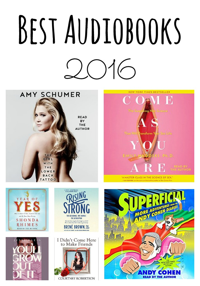 Audible Book Recommendations 2016