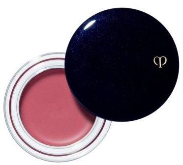 Cle de Peau Beaute Cream Blush in #1 Cranberry gave Kyle Richards a more intense flush for a RHOBH interview look.