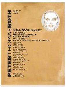 Peter Thomas Roth Un-Wrinkle® 24k Gold Intense Wrinkle Sheet Mask