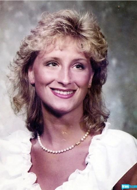 A portrait of a young Sonja Morgan.