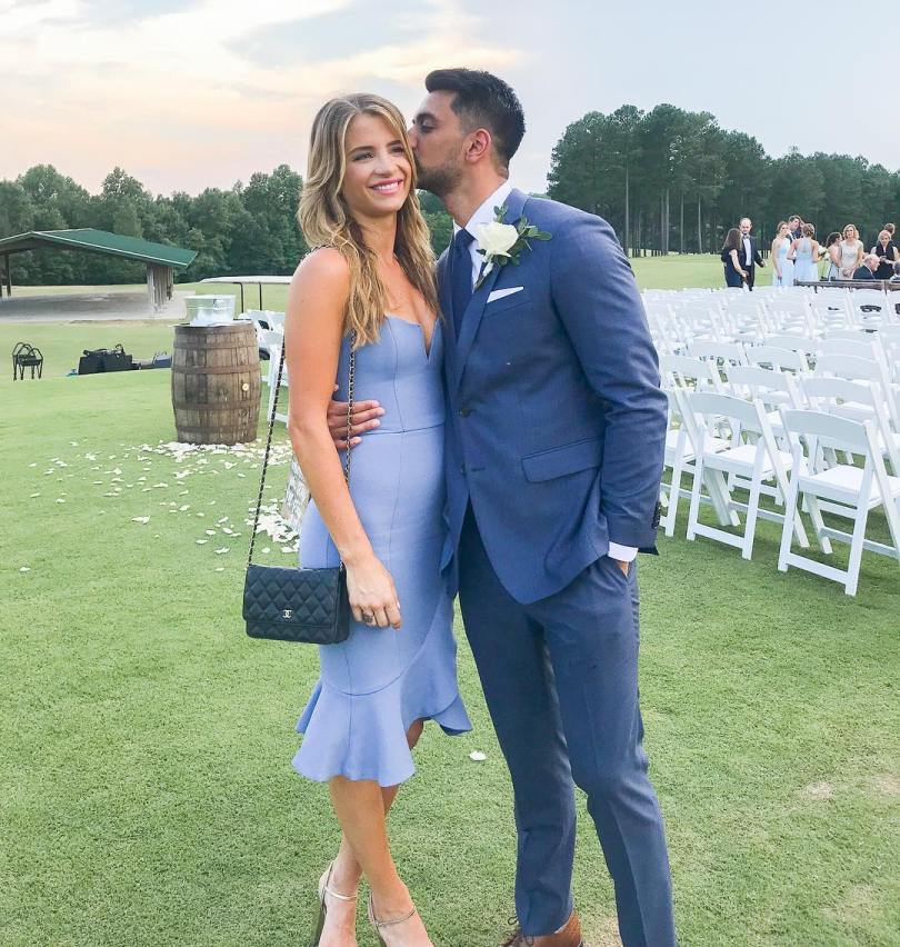 Naomie Olindo and boyfriend Metal Shah at his brother's wedding. Photo from IG @naomie_olindo