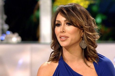 Kelly Dodd at the Real Housewives of Orange County Reunion