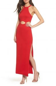 fame-and-partners-annalise-cutout-gown