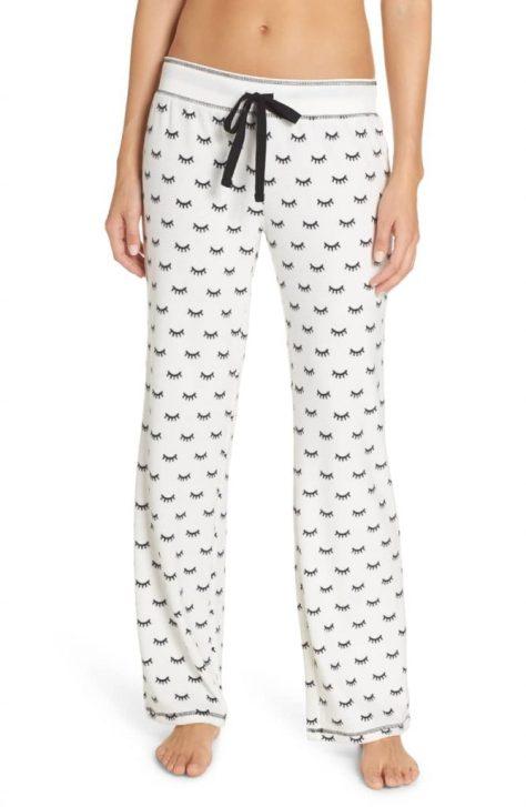 PJ Salvage Thermal Pajama Pant in Natural