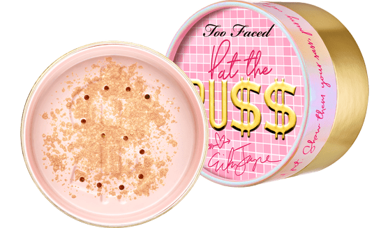 Erika Jayne x Too Faced Pat the Puss Body Shimmer Powder. Photo: TooFaced.com