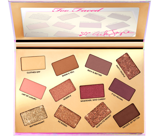 Erika Jayne x Too Faced Pretty Mess Eyeshadow Palette. Photo: TooFaced.com