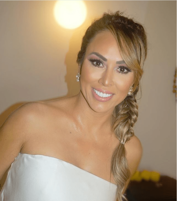 Kelly Dodd's makeup done by makeup artist Priscilla DiStasio