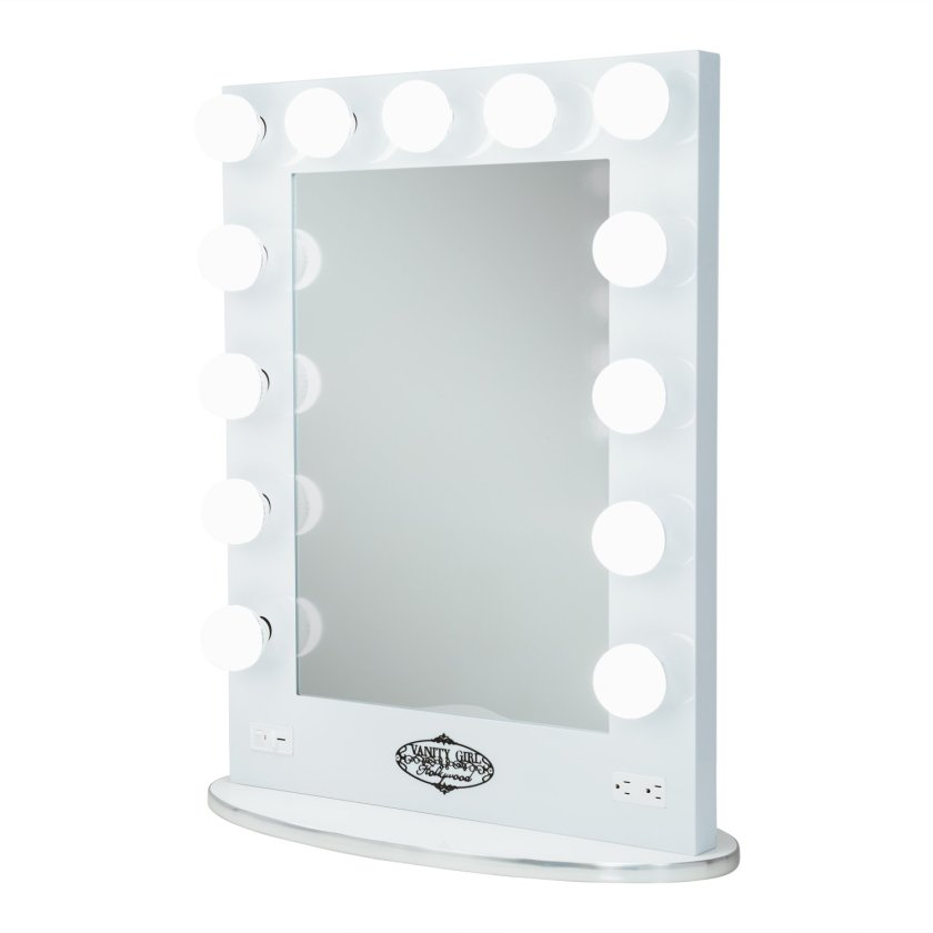 Vanity Girl Hollywood Lighted Mirror Tall