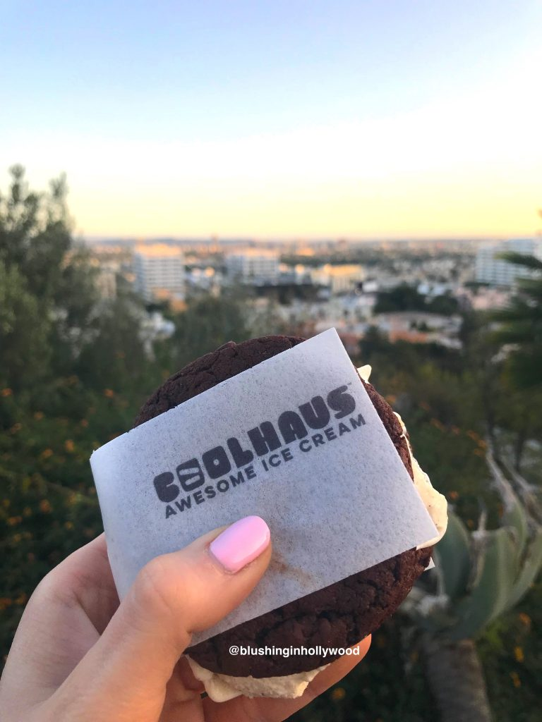 Coolhaus Ice Cream Sandwich from the Coolhaus Ice Cream Truck at Yamashiro Night Market