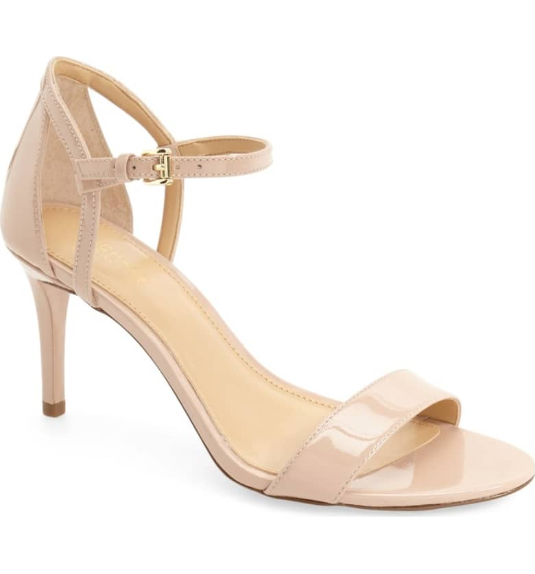 Michael Kors Simone Sandal in Light Blush
