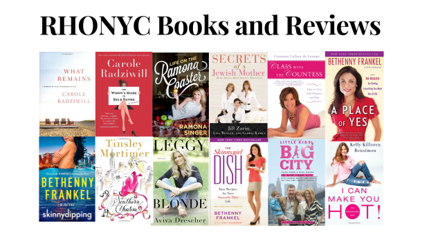 Real Housewives of New York City Books and Reviews