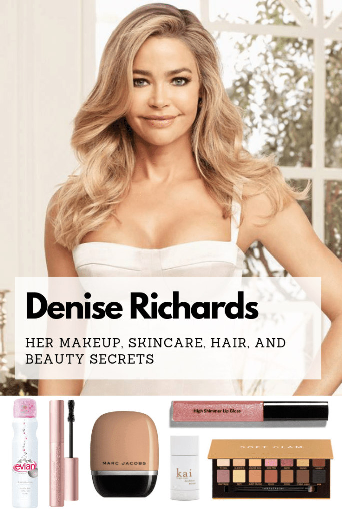 Denise Richards favorite makeup, skincare, diet, and hair products