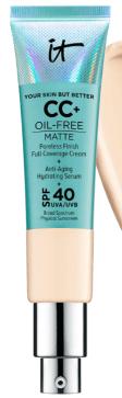 IT Cosmetics CC Cream Oil-Free Matte SPF 40