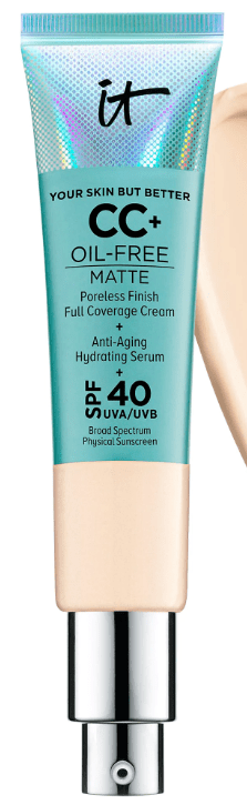 IT Cosmetics CC Cream Oil-Free Matte SPF 40