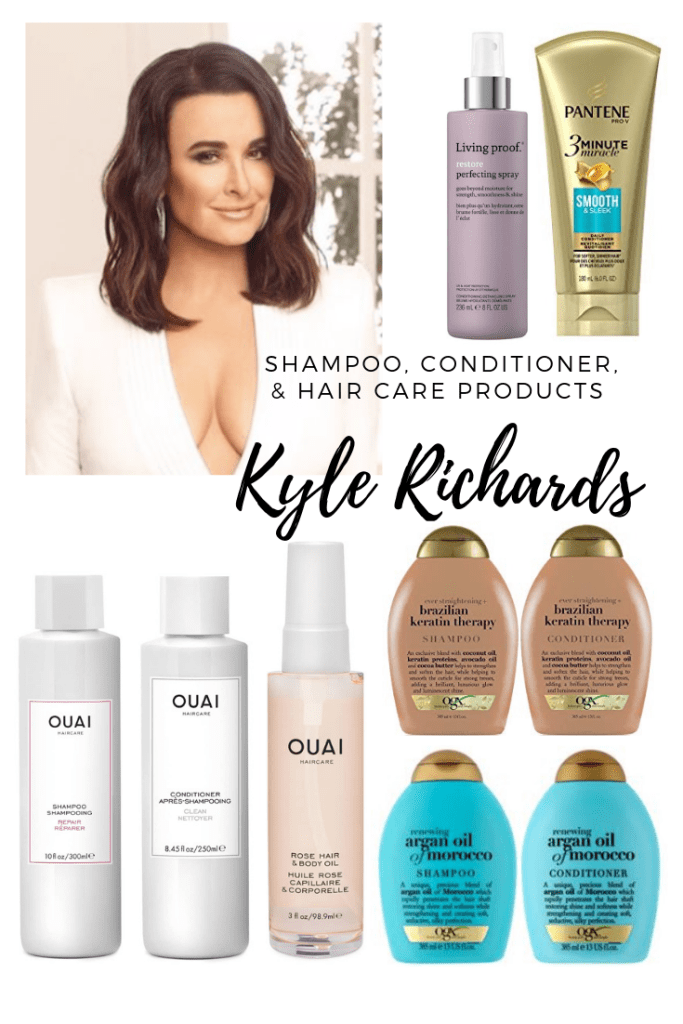 Kyle Richards Shampoo, Conditioner, & Hair Care Products