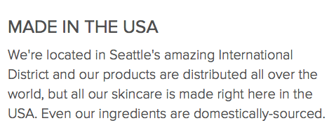 LA Splash Cosmetics are Made in the USA in Seattle, WA