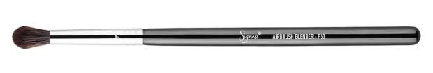 Sigma Beauty F63 Airbrush Blender Brush for blending the lower lashline