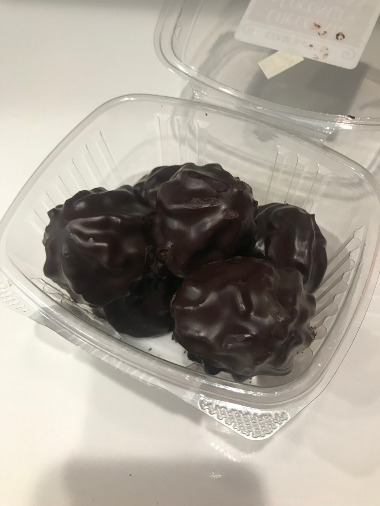 Chocolate Covered Coconut Macaroons from Trader Joe's