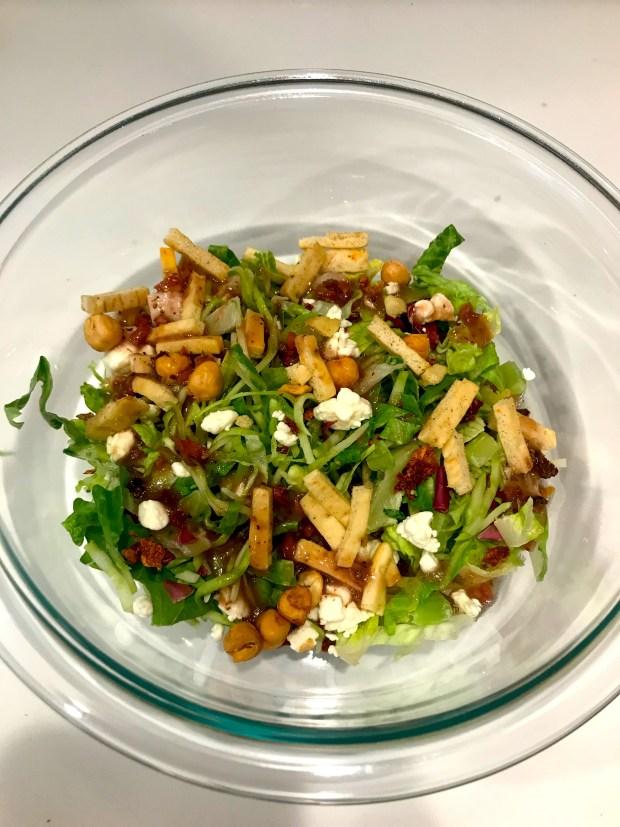 Trader Joe's Mediterranean Salad Kit