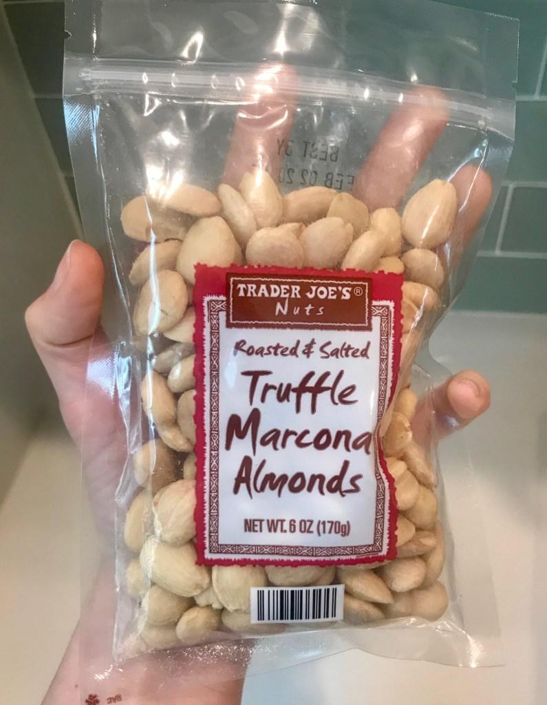 Trader Joe's Truffle Marcona Almonds