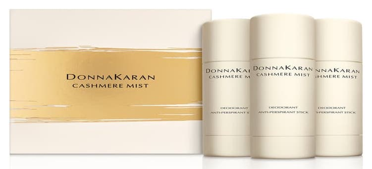 Donna Karan Cashmere Mist Deodorant Anti-Perspirant Stick Trio