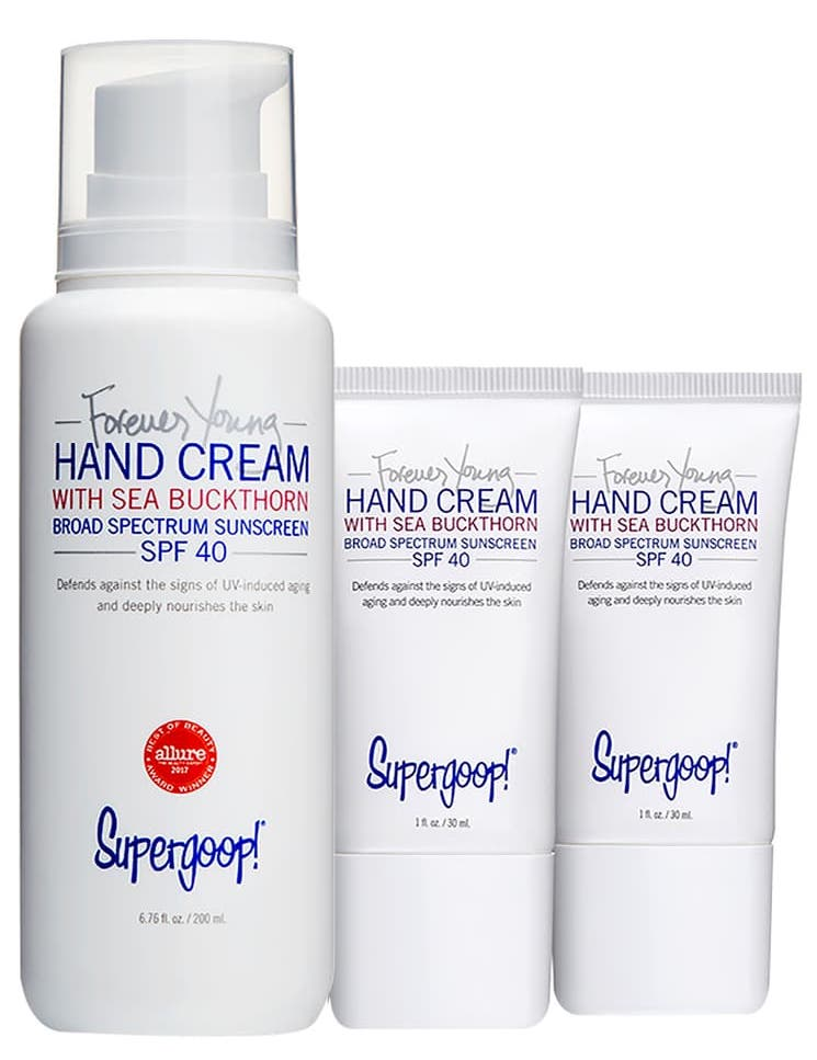 Supergoop! Forever Young Hand Cream with Sea Buckthorn SPF 40 Trio
