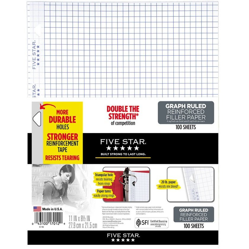 Five Star Graph Paper for calligraphy