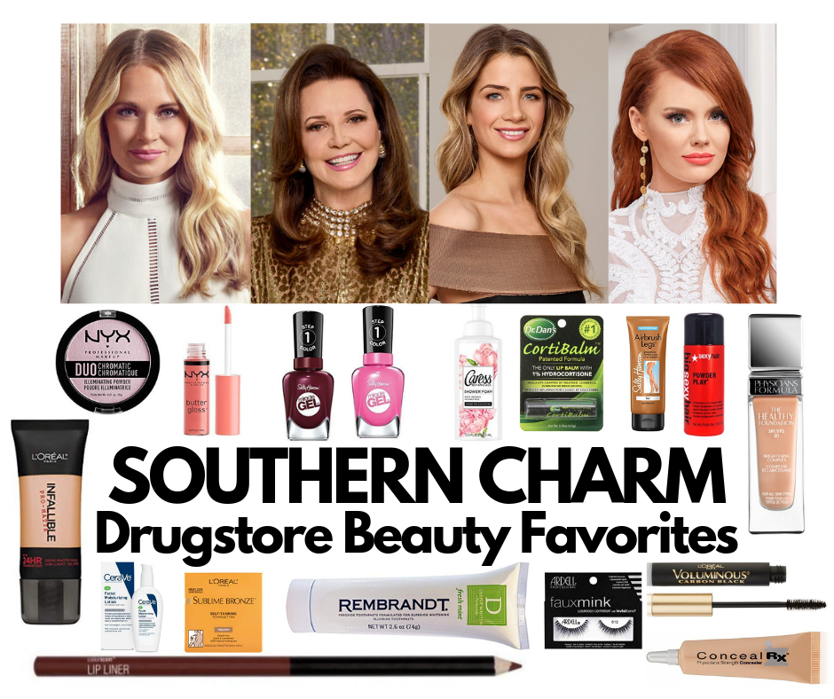Southern Charm Drugstore and Affordable Beauty Faves