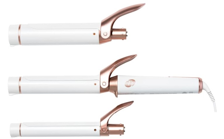 T3 Twirl Trio Interchangeable Clip Barrel Curling Iron Set