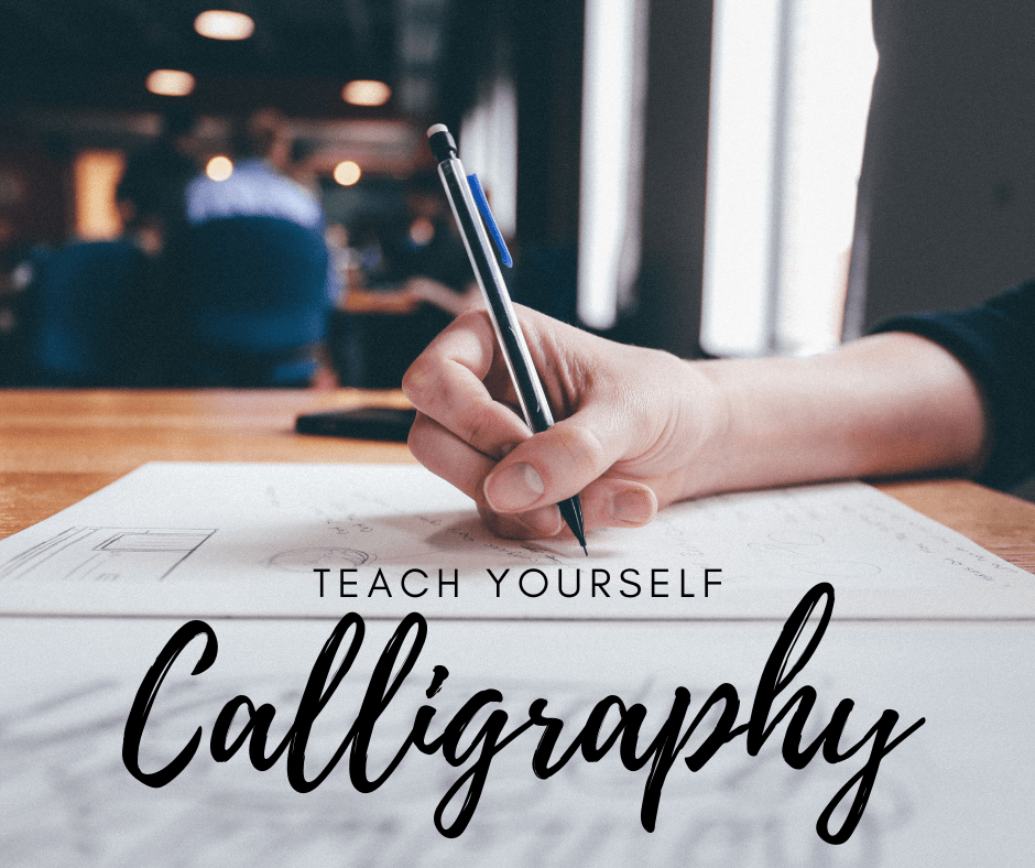 Teach yourself calligraphy fb