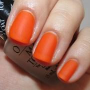 opi matte top coat nail polish
