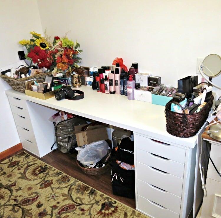 My Beauty Storage  Organization